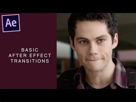 tutorial after effect transition after effect tutorial smooth basic transitions 183 ゚ youtube