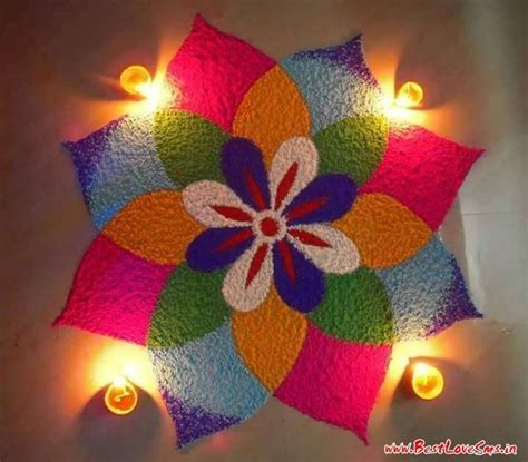 flower pattern rangoli design ultimate rangoli designs for diwali festival 2017 with