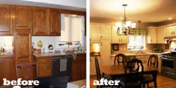 Cheap Kitchen Makeover Ideas Before And After by Kitchen Makeover Ideas On A Budget Afreakatheart