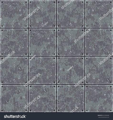 industrial floor metal plate texture background stock