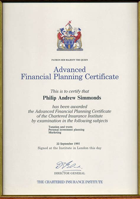 Mba In Insurance And Financial Planning by Academic Professional Qualifications Office