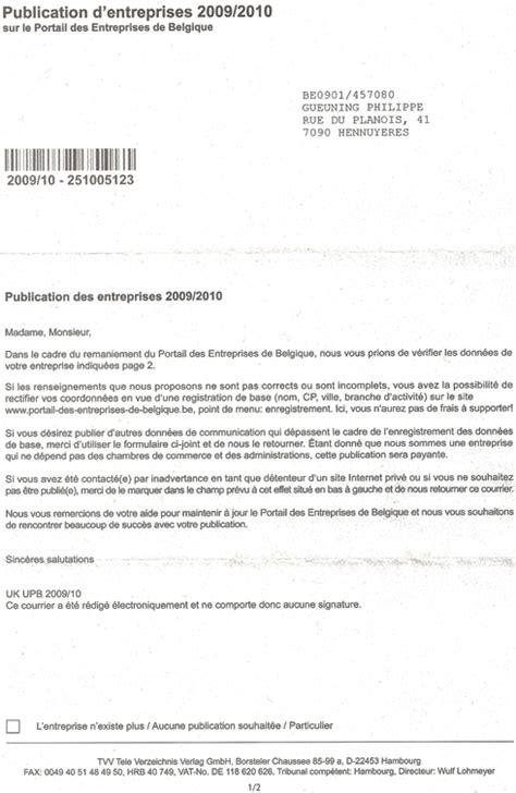 Exemple De Lettre Visite D Entreprise Simple Pour Tous