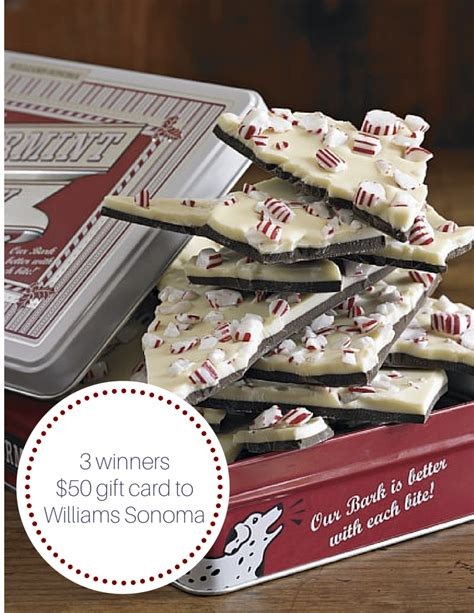Williams Sonoma E Gift Card - my luxefinds 12 days of christmas giveaway williams sonoma gift cards