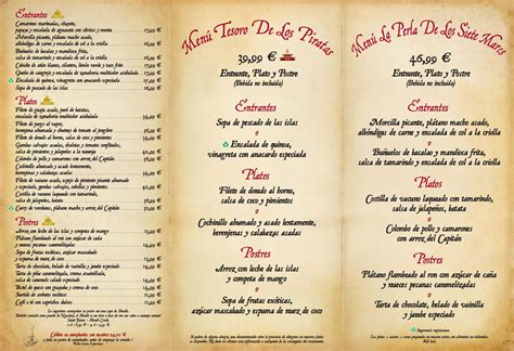 carta de un restaurante cartas de los restaurantes en disneyland paris