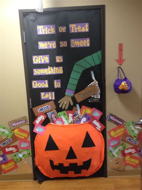 halloween themes for school preschool halloween door decorations idea for classroom