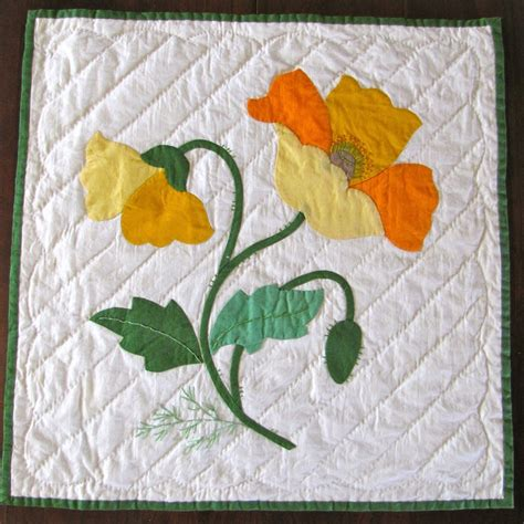 Free Applique Quilt Patterns Flowers by Pin Free Applique Quilt Block Patterns Printable Blocks