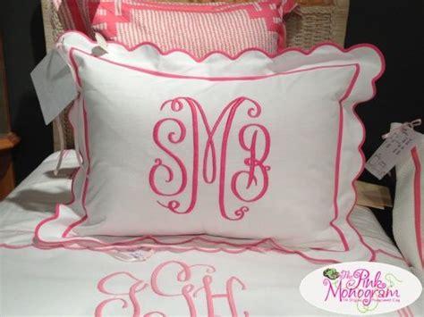 monogrammed bed pillows best 25 monogram pillows ideas on pinterest traditional