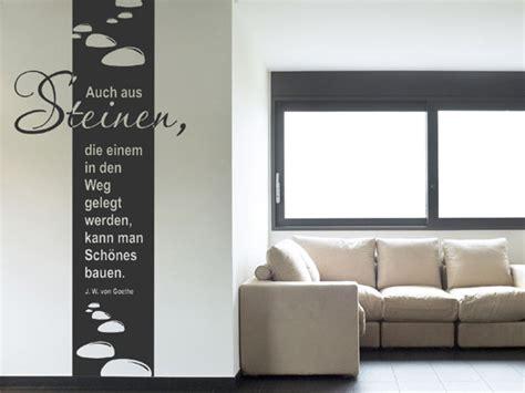 Wandgestaltung Steine Wohnzimmer 976 by Wandtattoo Wandbanner Auch Aus Steinen Wandtattoos De