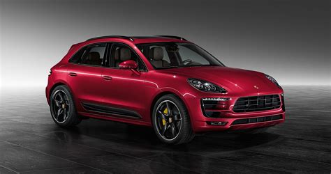 red porsche metallic red porsche macan turbo by porsche exclusive