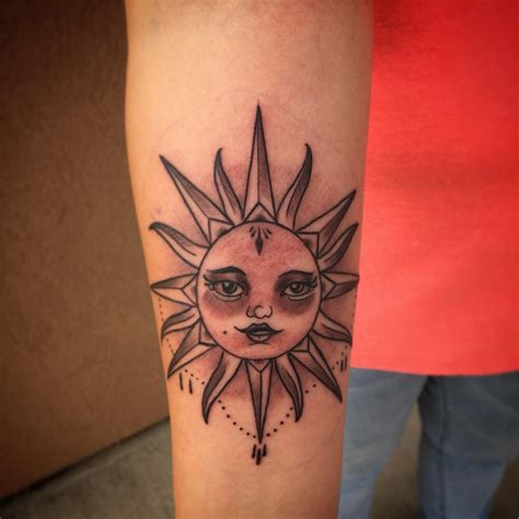 tattoos of the sun 95 best sun designs meanings symbol of the