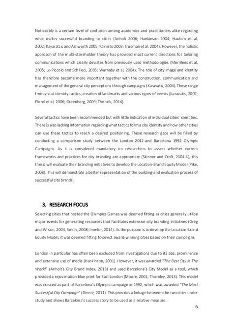 brand equity dissertation location brand equity model dissertation