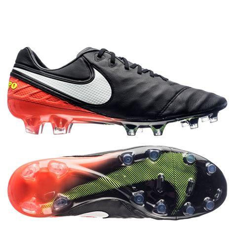 imagenes nike tiempo nike tiempo legend vi fg soccer shoes black hyper orange