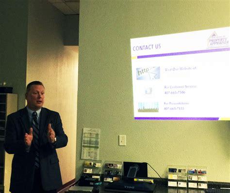 Seminole County Florida Property Records Seminar With David Johnson Seminole County Florida Property Appraiser Leading Edge
