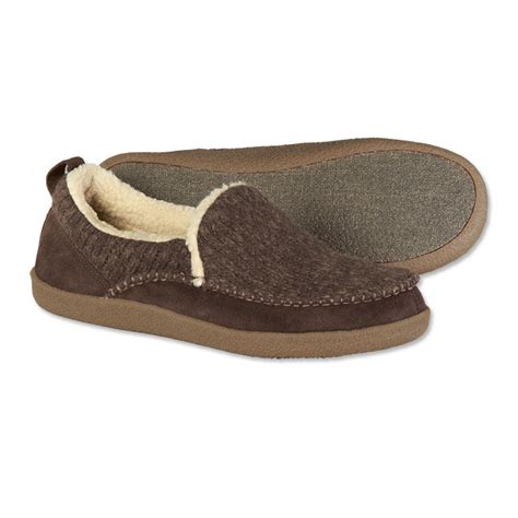 best rated mens house slippers men s slippers sherpa lined wool suede slippers orvis