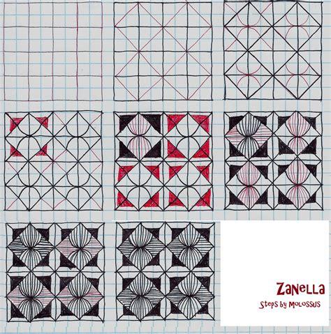 zentangle pattern avreal my tangle pattern zanella