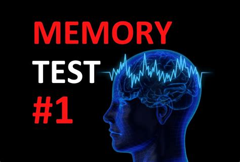 memory test memory test how is your memory 1