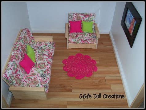 18 Inch Doll Living Room Furniture 1000 Ideas About American Doll Furniture On Pinterest American Furniture American Dolls