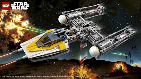 Lego 75172 Starwars Y Wing Starfighter Poster Lego 174 Wars 75172 Y Wing Starfighter