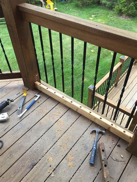 deck repairs  maintenance call carter custom painting