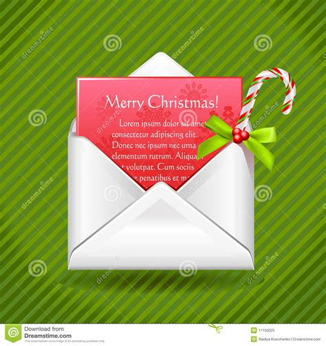 Official Letter Merry Merry Letter Royalty Free Stock Photo Image