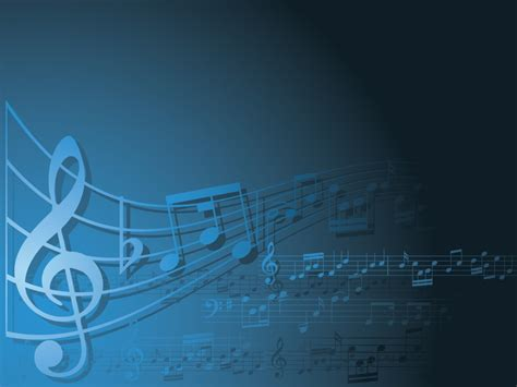 templates for powerpoint music blue and white music backgrounds music templates free