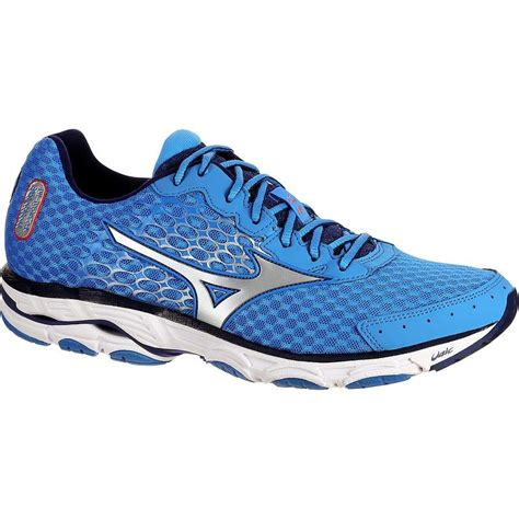 wave inspire pronation mens running shoes blue and