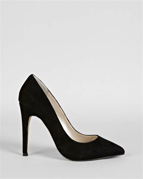 black pointed toe high heels millen pointed toe pumps court high heel in black lyst