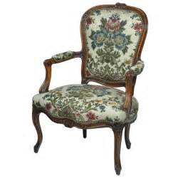 louis xv style open arm antique chair at 1stdibs