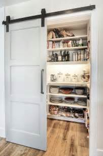 Kitchen Pantry Door Ideas by 25 Trendy Kitchens That Unleash The Allure Of Sliding Barn