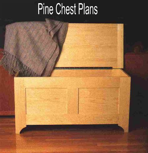Quilt Chest Plans by Blanket Chest Simple Solid Pine Plywood C13657 U