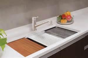 lenova ledge prep sink brings sleek style functionality