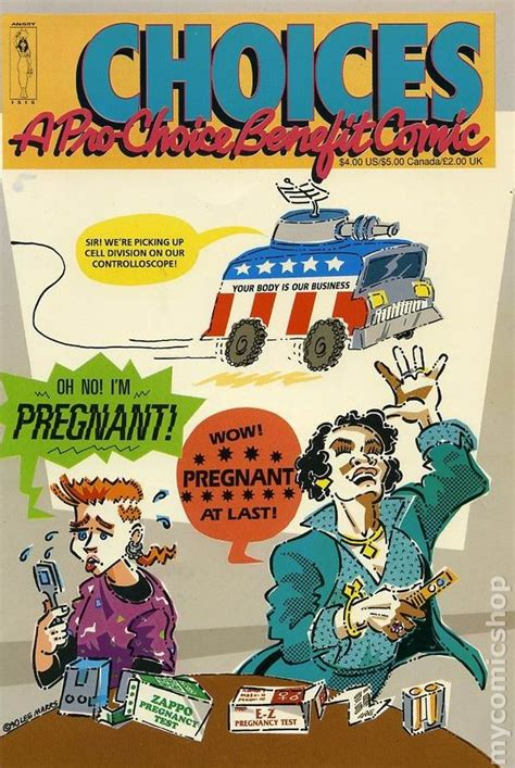 comics for choice books choices a pro choice benefit comic 1990 comic books