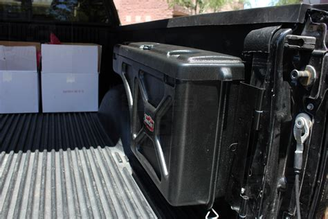 swing out tool box 2004 2014 f150 tonneau covers 5 5ft bed