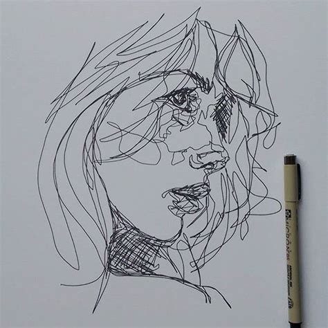 Artists Who Use Continuous Line Drawing