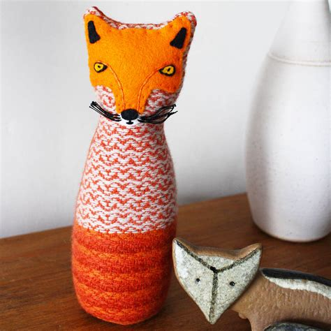 Handmade Fox - handmade fox by sally weatherill notonthehighstreet