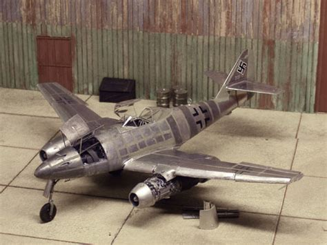 A1toys Easy Model Me 262 A 1a White 8 Pesawat Tempur Da white knuckle airfield sittard