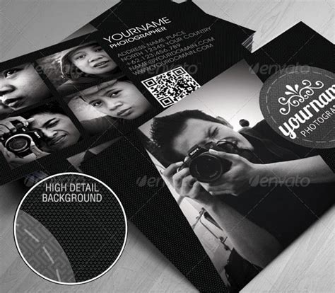 10 Professional Photography Business Card Templates Bashooka Card Templates For Photographers