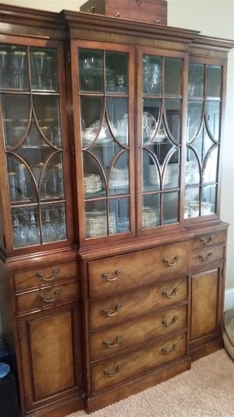how much is my china cabinet worth how much is my henredon breakfront secretary worth my
