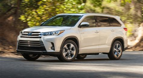 toyota drops pricing details for facelifted 2017 highlander