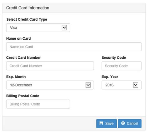 bench credit card build a credit card entry page using angular part 3