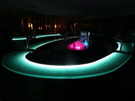 lighted bar tops glass bar top ideas cgd glass countertops