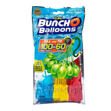 zuru bunch  balloons foilbag  pack toys caseys toys