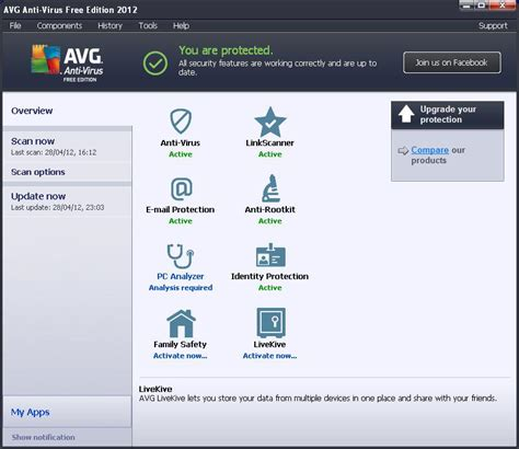 antivirus software free download for pc 2012 quick heal full version avg anti virus free edition 2012 review review pc advisor
