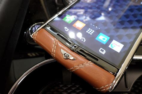 vertu signature touch bentley on with the vertu for bentley smartphone digital