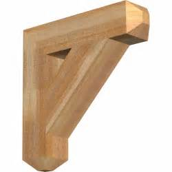 Exterior Wood Brackets Traditional Craftsman Style Rustic Timber Wood Bracket