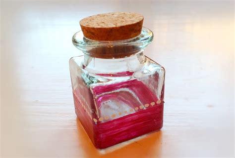 Glass Home Decor Glass Jars Spice Jars Cork Lids Pebeo Porcelaine Paints