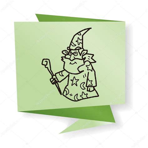 doodle polls wizard html wizard doodle vector illustration stock vector 169 hchjjl
