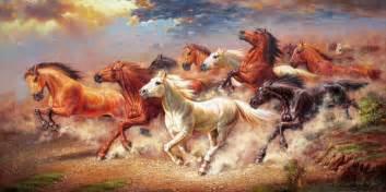 Wall Sticker Online Shopping running horses posters reviews online shopping running