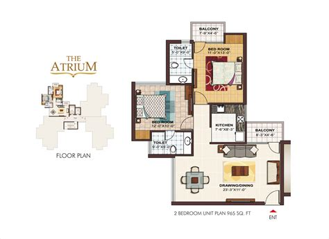 atrium floor plans rrastha city the atrium in sector 37 gurgaon buy