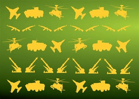 army pattern ai file military icons pattern vector free vectors vector me